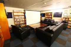 Lounge and Movie room