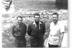 GOUGH 1 (1956): J.P. van Tonder, B.E. Brokensha, J.J. van der Merwe Insert: L.C. Henning.