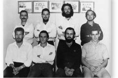 GOUGH 11 (1965-1966): Back (L-R) D.J. Jooste, W. Du Toit Olivier, F.J.M. Taylor, C.C. Human; Front: W.J. Visagie, G.H. Cooper, S.J. Quinn, T.N. Venter.