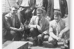 GOUGH 5 (1960): Back (L-R) W.G. Lamb, J.S. Bouwer, J.H.J. van der Merwe; Front: W.A.A. Collins, W.J.C. Visagie, A.C.J. Van Rensburg.