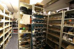 Cat Spares Store Room