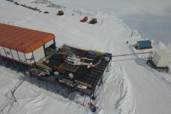 Sanae IV Base Hellipad