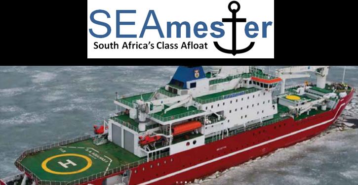 SEAmester, class afloat, floating university, SA Agulhas II