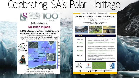 Celebrating SA's Polar Heritage