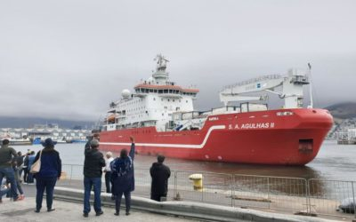 SA Agulhas II departs on 2019 relief voyage to Gough Island