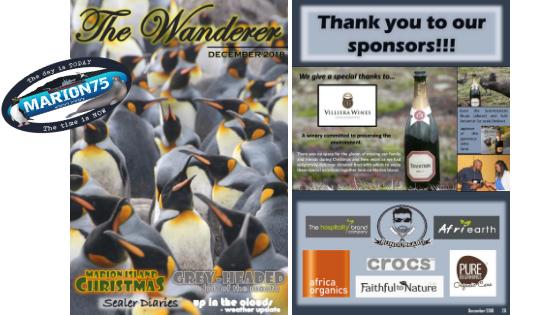 Marion Island, Newsletters, sub-Antarctic, Overwintering Team