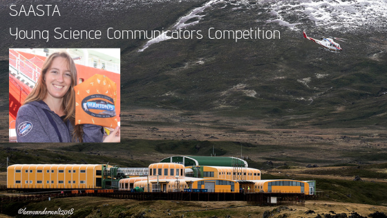Marike Louw, Marion Island, Science Communication, Young Science Communicators Competition