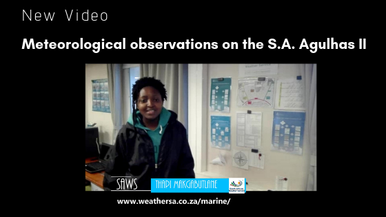 SAWS, South African Weather Service, SA Agulhas II, Souther Ocean, Weather