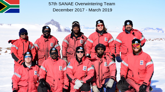 SANAE57 Team -currently on their way home (Video)
