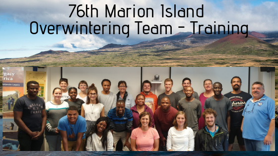 Marion Island, Overwintering, Team