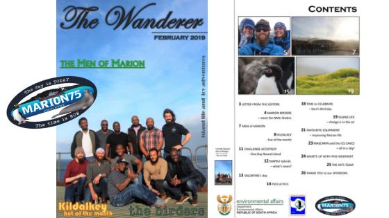 Marion Island, Newsletter