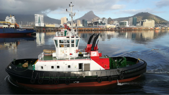 UPDATE: S.A. Agulhas II moving to East Pier