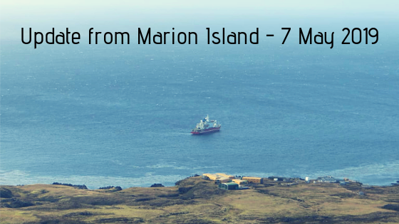 Marion Island take-over coming to an end