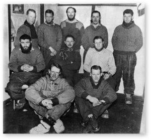 1st SANAE Overwintering Team, 1960