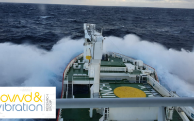 Sound & Vibration research currently onboard the S.A. Agulhas II