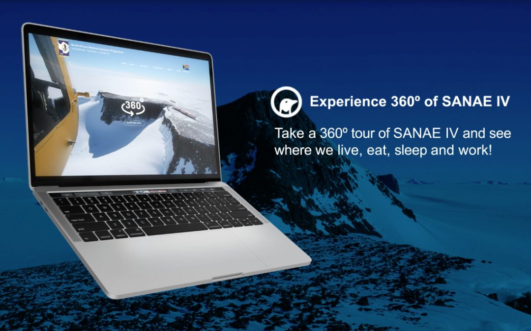 SANAE 360 degree material LIVE!