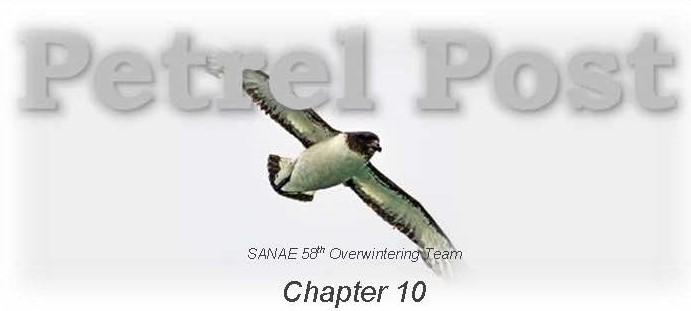 SANAE 58 say farewell in their last newsletter