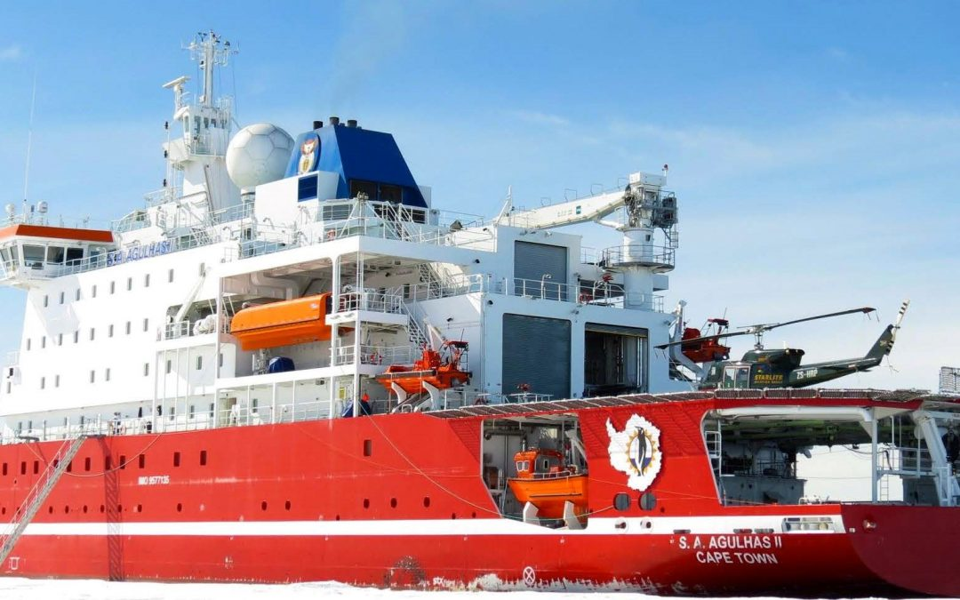 Sunday Science – Reflections – Sound and Vibration of the S.A. Agulhas II