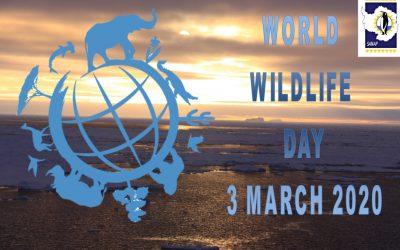 SANAP Celebrates WorldWildlifeDay2020
