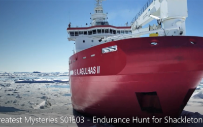 Watch History meets todays Present Day in the Hunt for Shackleton's Endurance.