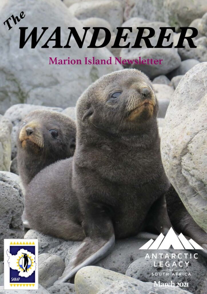 Marion Island M77 March Newsletter