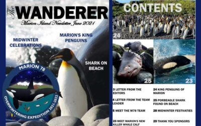 Marion Island Newsletter – June 2021 edition now available